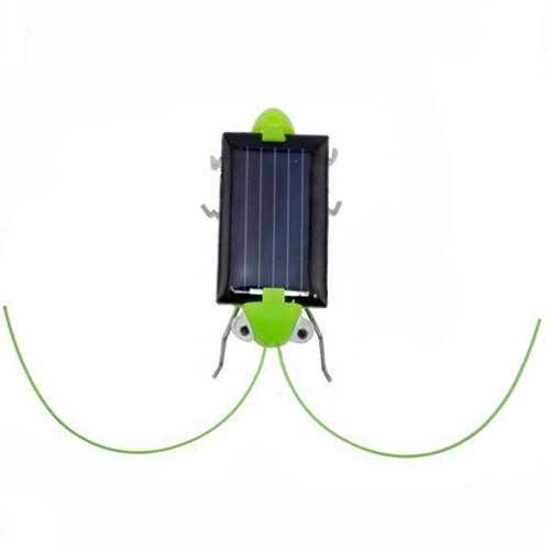timeracing Creative Fun Kids Baby Educational Toy Solar Power Robot Insect Locust Grasshopper