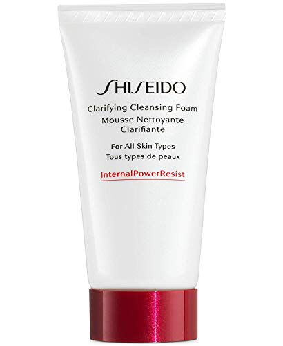 SHISEIDO Clarifying Cleansing Foam for All Skin Types Travel Size 50 mL - 1.8 OZ. New No Box