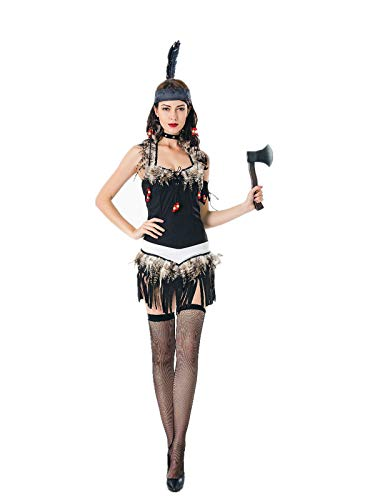 Women Native American Maiden Costume Indian Princess Tribal