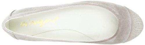 Cinque Shoes Kacey 1071-221 - Bailarinas de cuero para mujer Gris (Grau (Taupe 360))