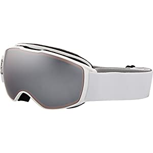 Julbo Eyewear Unisex Echo (7-10 Years Old) White/Flower With Spectron 3 Silver Flash Lens One Size