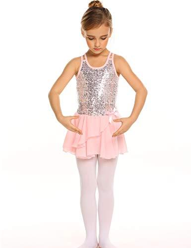 64608af20b85 Jual Arshiner Kids Girls Sequined Camisole Ballet Dance Leoatards ...