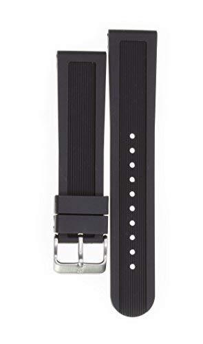 Victorinox Swiss Army Dive Master Black Genuine Rubber Strap Diver Watch Band 22mm