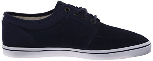 Fred Perry Stratford Suede Homme Baskets Mode Bleu