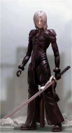 Square Enix Final Fantasy VII Movie Advent Children Series 2 Action Figure Kadaj (Final Fantasy Vii Advent Children Play Arts Sephiroth)