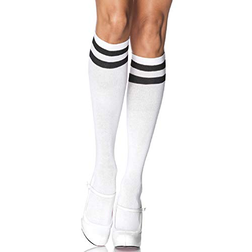 Leg Avenue Womens Athletic Knee Socks -