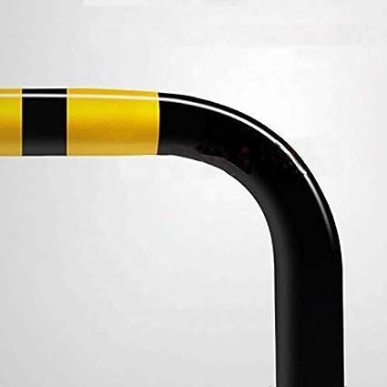 Color : A WDWL Parken Haufen Von Schwermetallpoller Sicherheitspoller Schwarz Poller for Parkspur Abfangj/äger 60 * 33CM