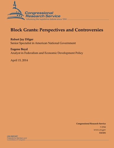 Block Grants: Perspectives and Controversies