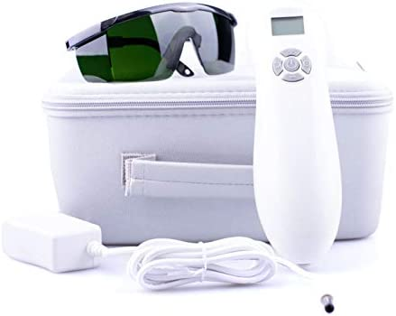 HD-MAX Cold Laser Therapy Device for Pain Relief – Red Light Therapy for Back Pain, Arthritis Pain Relief. Hand Held Laser For Home Use. 4 Bonuses 2 Acupuncture E-Books, Safety Goggles, Extra Adapter