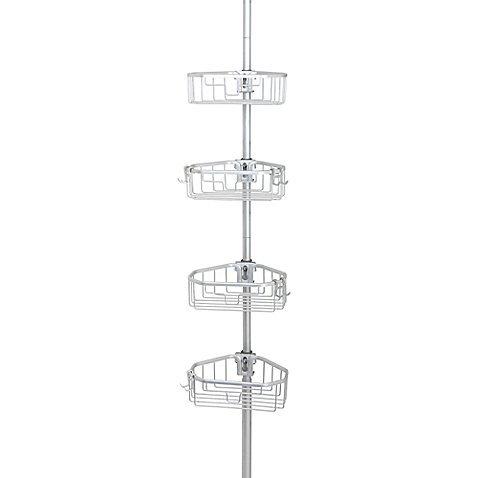 .ORG NeverRust™ Aluminum Tension Pole Caddy
