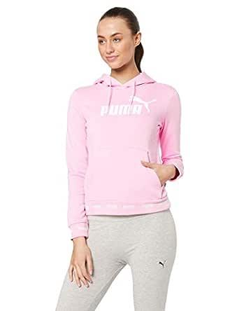PUMA Women's Amplified Hoody TR, Pale Pink, XS