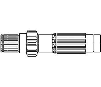 Massey Ferguson Tractor 6 Speed & Manual Shuttle Countershaft Part No: 183054M92, VPH1124, AM183054M92, HM183054