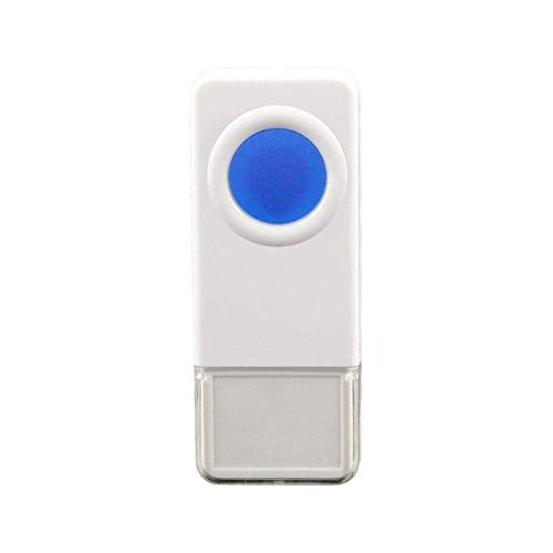 STARPOINT Extra Add-On Remote Waterproof Transmitter Button for the STARPOINT Expandable Wireless Multi-Unit Long Range Doorbell Chime Alert System, Model LTW, White (The Best Addons For Wow)