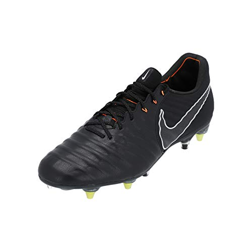 Nike Men's Tiempo Legend 7 Elite SG-Pro AC Soccer Cleats (Black/Total Orange/White) (7)