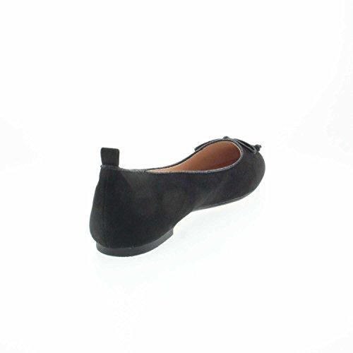 ESPRIT Women's 037ek1w007 001 Ballet Flats Black O0lcp
