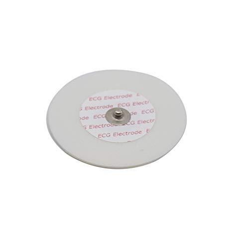 SinoK Compatibel wegwerp ECGEKG zelfklevende knop elektrode pad volwassen Pack van 50