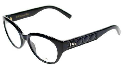 Dior Montures de lunettes CD3264 / Timeless Cannage Pour Femme Shiny Black EDU: Blue Gradient