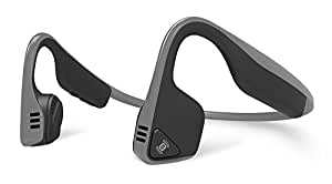 Aftershokz AS600SG Trekz Titanium Open Ear Wireless Bone Conduction Headphones, Slate Grey