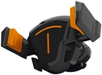 車の空気出口の携帯電話のホールダー、冷暖房ポートの運行車の回転 (色 : Orange)