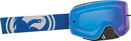Dragon NFXS Goggles - One size fits most/Blue White Split/Blue Ion by Dragon Alliance