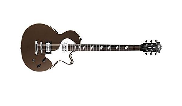 Cort Sunset barítono semi Acoustic Guitarra eléctrica: Amazon.es ...