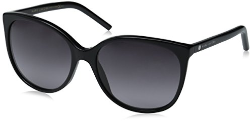 Marc Jacobs Women's Marc79s Square Sunglasses, Black/Gray Gradient, 56 - Sunglasses Marc