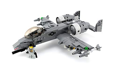 A-10 Warthog Thunderbolt Expert Air Force Custom Set (Lego Call Duty)