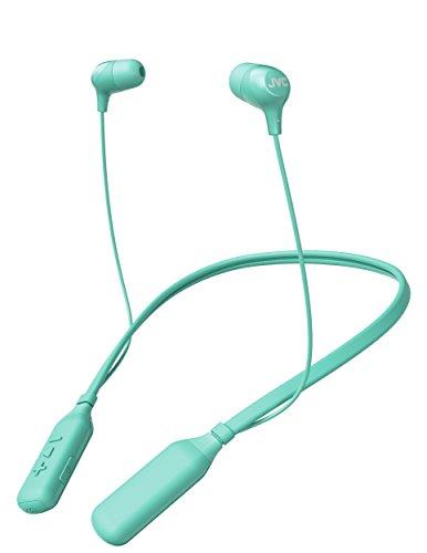Comfortable Bluetooth Wireless Marshmallow Earbuds Long 14 Hour Battery Life JVC HA-FX39BTG -