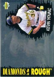 1993 Upper Deck Diamond Gallery #36 Kevin Young Near Mint/Mint