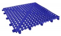 - Interlocking Shelf Mat - Blue
