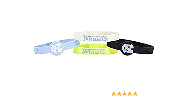 aminco NCAA Penn State Nittany Lions Silicone Bracelets 4-Pack