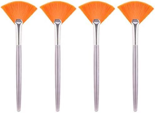 Beaupretty 4 Stuks Gezichtsborstels Waaiermasker Masker MakeUp Cosmetische Tools Applicator Voor Meisjes Vrouwen Dames