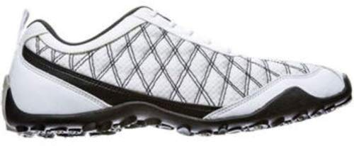FootJoy Ladies Summer Series Golf Shoes 98951 White/Black Closeout Womens New