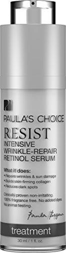 Paula's Choice RESIST Intensive Wrinkle-Repair Retinol Serum with Vitamin C for Wrinkles and Uneven Skin Tone – 1 oz