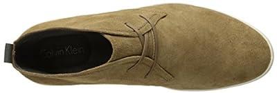 Calvin Klein Men's Nowles Calf Suede Fashion Sneaker