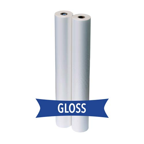STD 1.5 Mil 27 in. x 500 ft. x 1 in. Core Roll Laminating Film by TruLam