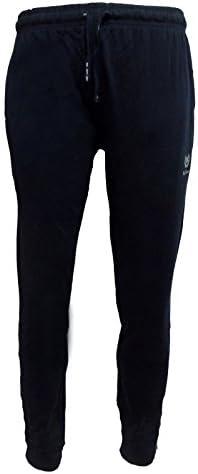 920 be board Pantalone Uomo Lungo Sportivo in Cotone con Elastico alle Caviglie calibrato Art