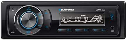 BLAUPUNKT Osaka 200 1 DIN USB Bluetooth AUX MP3 SDHC Car Radio 4 x 50 watts Max Output Power Car Stereo Receiver Headunit
