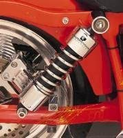 Progressive Suspension 412-4080C Chrome 12 Standard Replacement Rear Suspension Shock
