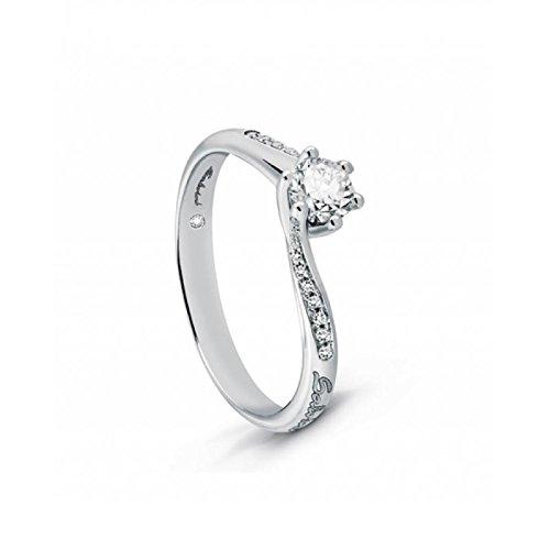 Solitaire Salvini poésie 20068982-0,32or blanc diamant