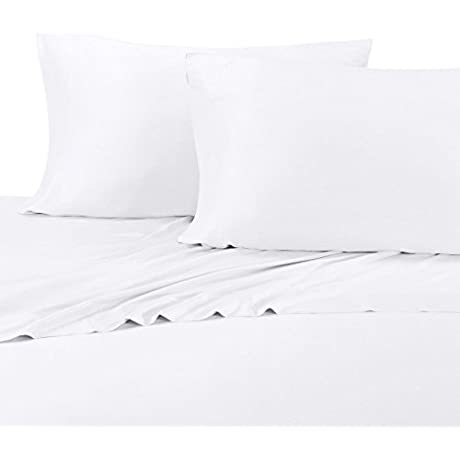 Luxury Bamboo Bed Sheet Set Extremely Cool Soft 100 Viscose From Bamboo Sheet Split King White