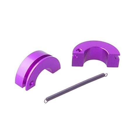 shaluoman aluminio zapata de embrague con muelle para RC HSP 1: 10th Piezas de actualización, color morado: Amazon.es: Juguetes y juegos