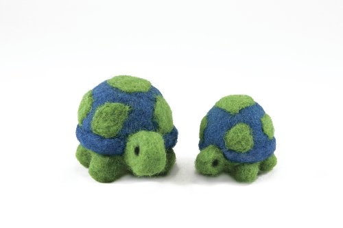 Dimensions Needlecrafts Round and Wooly Turtles Needle Felting Kit