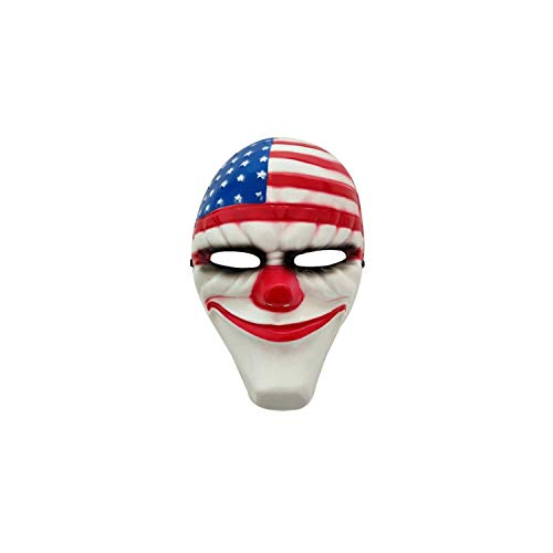 Payday 2 Costumes For Sale - Halloween Clown Masks for Masquerade Party