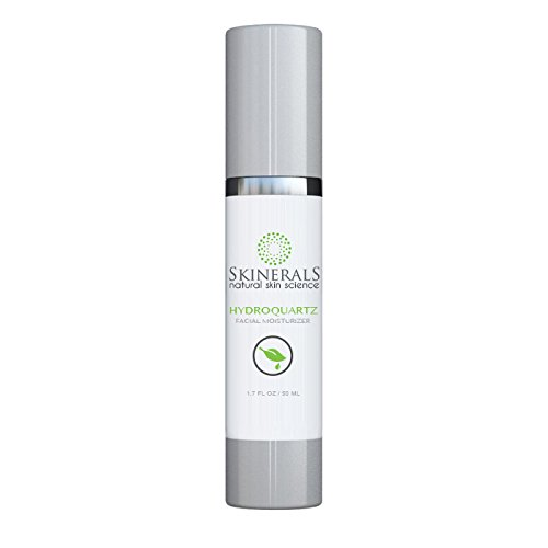 Skinerals Facial Moisturizer Hydroquartz with Organic and Natural Ingredients Skin Hydration Face Treatment Restore Your Skins Beauty