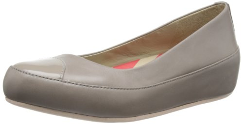 Due Leather Donna Beige Ballerine FitFlop Mink pUqafZpz