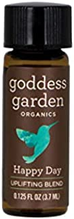 product image for Goddess Garden Happy Day Aromatherapy Bracelet Blend for Joy and Levity, Pure Therapeutic Grade Essential Oil, Leaping Bunny Certified Cruelty-Free, Grapefruit, Bergamot, Lime, Palmarosa and Jojoba