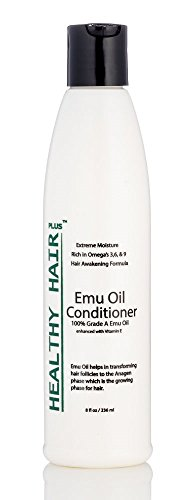 Healthy Hair Plus - Emu Oil Conditioner that Reduces Dryness and Moisturizes Hair (8oz)