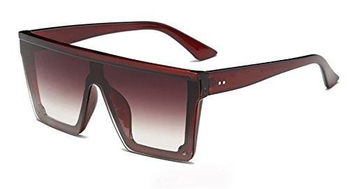Lente pieza Protección de UV Libre Square Sol Viaje 400 de una sola Visera Polarizado Gafas YANJING Hombre Conducir Aire Piloto PXnx5Fzwq