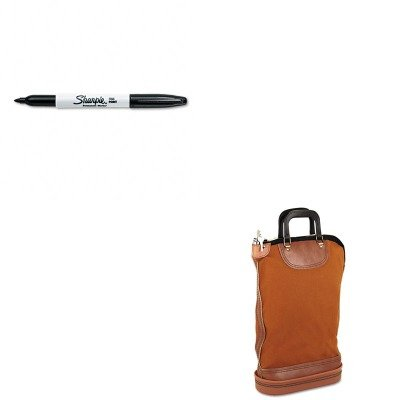 KITPMC04644SAN30001 - Value Kit - Pm Company Regulation Post Office Security Mail Bag (PMC04644) and Sharpie Permanent Marker (SAN30001) ()